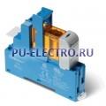 48.31.7.024.0050.SMA   483170240050SMA   Интерфейсный модуль реле- 1 перекидной контакт 10А (= 24В Чувст. пост. тока) винтовые зажимы