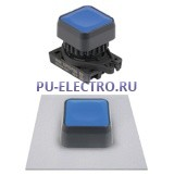 S2PRS-P1 Квадратные кнопки нажатия без подсветки, выступающего типа