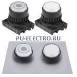S2PR-E3 Круглые кнопки нажатия с подсветкой, с выступающей головкой, диаметр 22/25мм