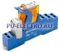 4C.52.8.012.0060.SPA | 4C5280120060SPA | Интерфейсный модуль реле- 2 перекидных контакта 8А (~ 12В AC) пружинные зажимы