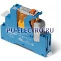 4C.01.8.024.0060.SPA   4C0180240060SPA   Интерфейсный модуль реле- 1 перекидной контакт 16А (~ 24В AC) винтовые зажимы