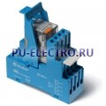 59.32.8.024.0060.SMA   593280240060SMA   Интерфейсный модуль реле- 2 перекидных контакта 10А (~ 24В AC) винтовые зажимы