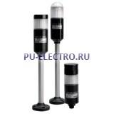 PTM Трехцветная светодиодная сигнальная колонна, диаметр 56 мм