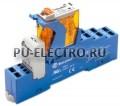 4C.52.9.125.0050.SPA | 4C5291250050SPA | Интерфейсный модуль реле- 2 перекидных контакта 8А (= 125В DC) пружинные зажимы