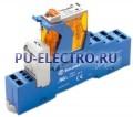 4C.52.8.230.0060.SPA   4C5282300060SPA   Интерфейсный модуль реле- 2 перекидных контакта 8А (~ 230В AC) пружинные зажимы