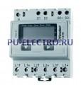 Электросчетчики 10(65)A 3-фаза - Электронный дисплей; подкл.токовый трансформатор; Упаковка с 1 реле