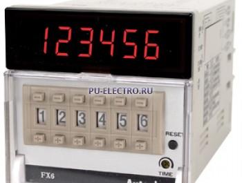 FX6 100-240VAC Счетчик/Таймер