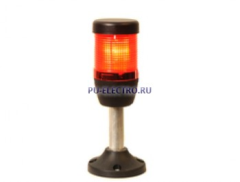 IK51L024XM03 Сигнальная колонна 50 мм. Красная 24 вольта, светодиод  LED