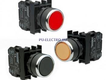 Нажимные кнопки EMAS 22 мм серии В без фиксации IP50