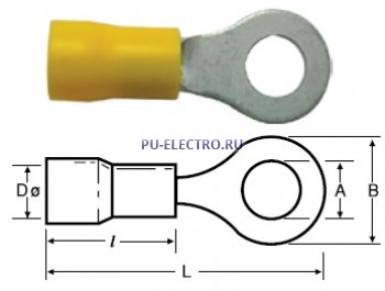 Кольцевые кабельные наконечники