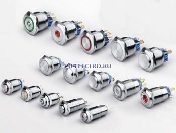 Антивандальные металлические переключатели серии LAY50-J