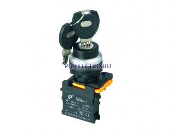 Переключатели с ключом на 2 и на 3 положения серии SKB0-PG
