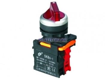 Поворотные переключатели на 2 и на 3 положения SKB0-PD