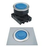 S3PF-P1 Кнопки нажатия без подсветки, утопленный тип, диаметр 30 мм