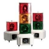 MSGS Вращающаяся маячковая колонна с лампами накаливания и звуковым блоком