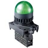 Контрольные лампы, куполообразный плафон, диаметр 22/25 мм