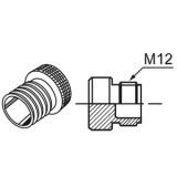 Защитная облочка соединения датчика приближения (металл) Ур. защиты  IP67 (Waterproof Cover)