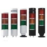 MP8 Светодиодные сигнальные колонны, большой пластиковый корпус 86 мм