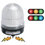 MS86M Трехцветная светодиодная стробоскопическая сигнальная лампа, d=86 мм