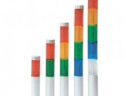 PLD Сверхтонкие светодиодные сигнальные колонны диаметром 25 мм