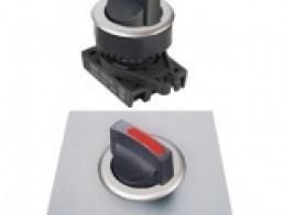 S3SF Селекторные переключатели без подсветки, утопленного типа, стандартная ручка, диаметр 30 мм