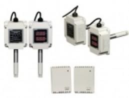 THD Серия - Датчики температуры и влажности (с дисплеем/без дисплея)