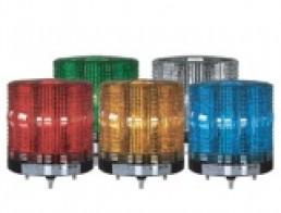 MS115T Многофункциональная светодиодная сигнальная лампа, постоянное /мигающее свечение или маячок,