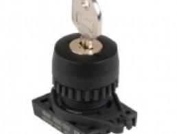 S2KR Селекторные переключатели с ключом, диаметр 22/25 мм