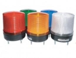 MS115L Светодиодные сигнальные лампы, постоянное и мигающее свечение, d=115мм