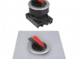S3SFN-S Селекторные переключатели без подсветки, утопленного типа, ручка Shark, диаметр 30 мм