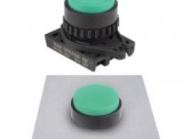 S2PR-E1 Круглые кнопки нажатия без подсветки, с выступающей головкой, диаметр 22/25мм