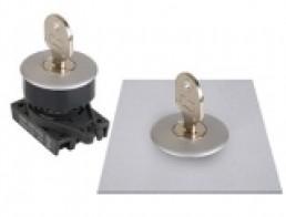 S3KF Селекторные переключатели с ключом, утопленный тип, диаметр 30 мм