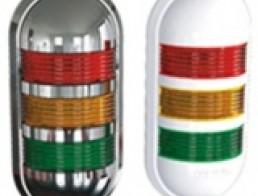 PWE Компактная светодиодная сигнальная лампа, настенное крепление