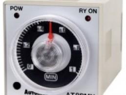 AT8PSN/AT8PMN Твердотельный таймер с задержкой отключения