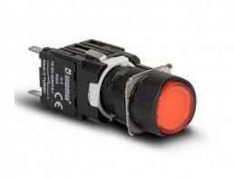 Кнопки круглые EMAS 16 мм серии D IP20
