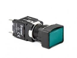 Кнопки прямоугольные EMAS 16 мм серии D IP20