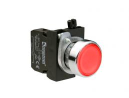 Нажимные кнопки EMAS 22 мм серии CМ без фиксации IP65