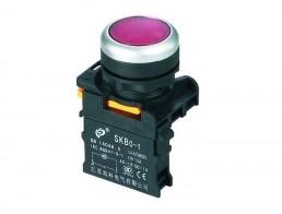 Выключатели кнопочные без фиксации, с фиксацией серии SKB0-PA