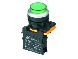 Выключатели кнопочные без фиксации, с фиксацией серии SKB0-PL