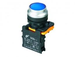 Выключатели кнопочные без фиксации, с фиксацией серии SKB0-PLA