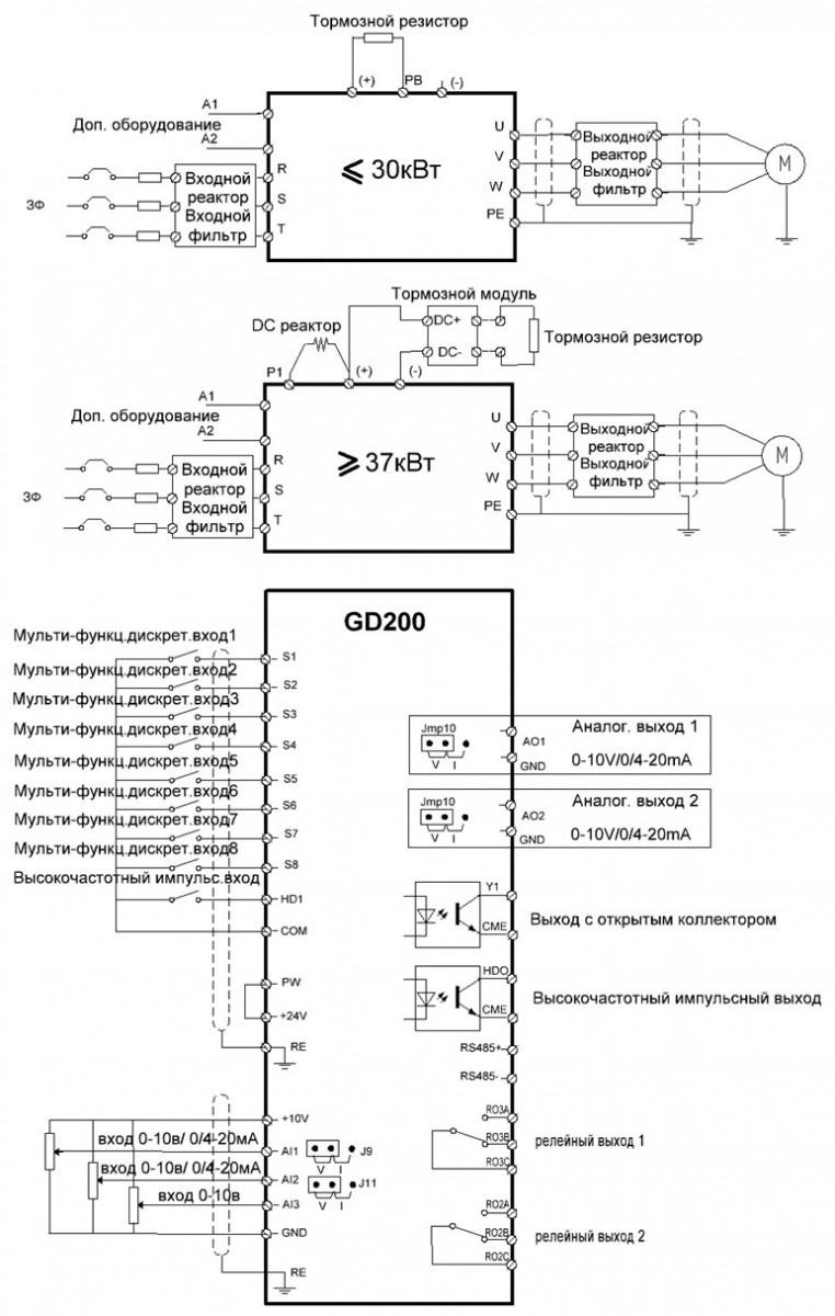 преобразователь частоты 50 400 гц схемы